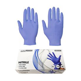 Blue Nitrile Gloves - SMALL Medical Grade / Powder Free
