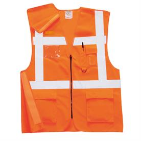 Executive Rail Vest RIS Orange