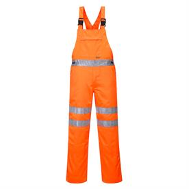 Hi-Vis Bib & Brace RIS Orange RT43