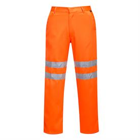 Hi-Vis Poly-cotton Trousers RIS Orange