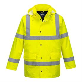 Portwest Large Hi-Vis Traffic Jacket High Visibility / Jackets