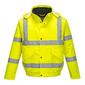 Portwest Large Hi-Vis Bomber Jacket High Visibility / Jackets