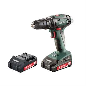 18V Combi Drill with 2 x 2.0Ah Li-Ion Batteries