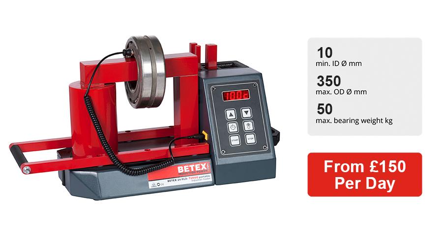 Induction heater Betex 24 RLDi bearing