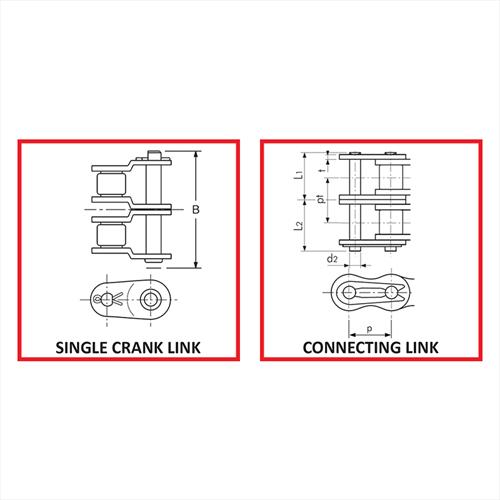 Duplex Connecting Links